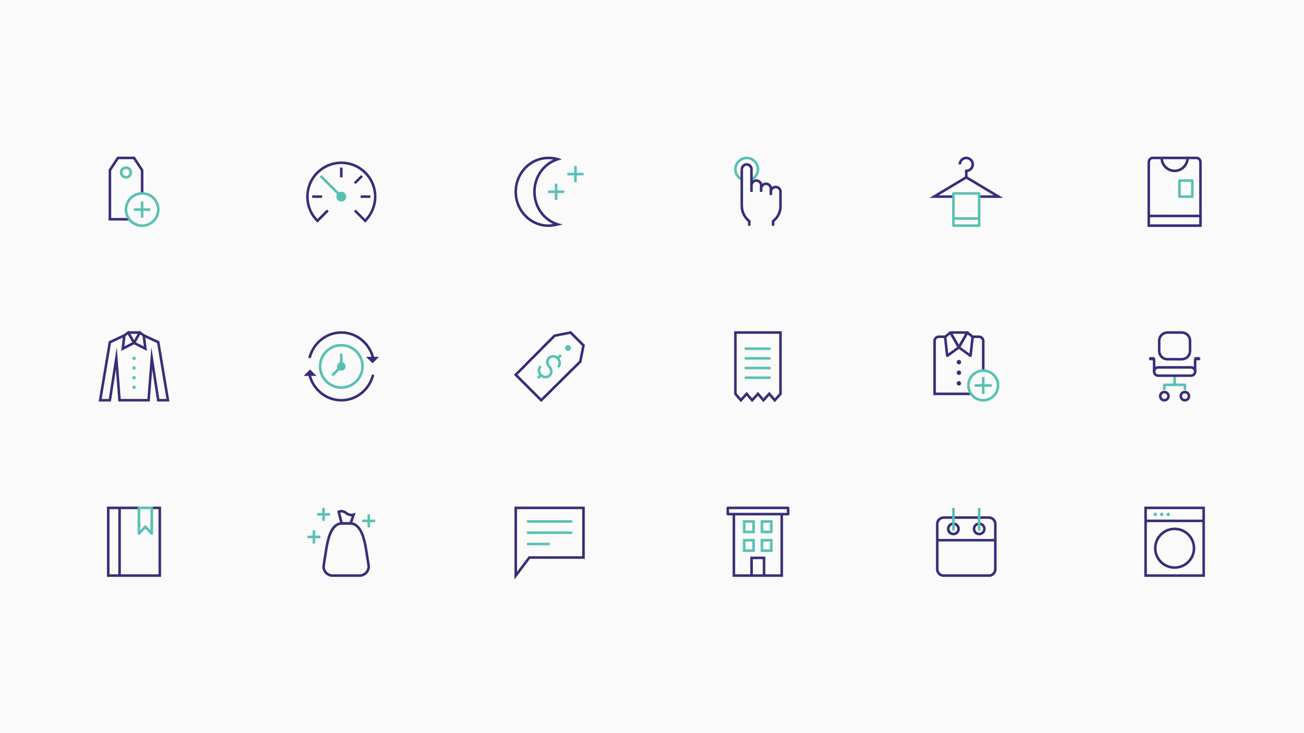bueno-work-cleanly-icon-set