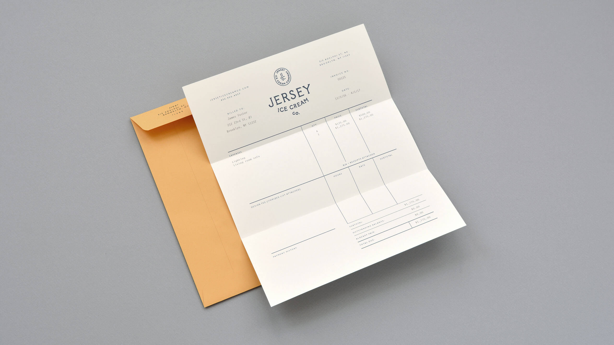 Printable Sales Invoice Word Bueno  Jersey Ice Cream Co Project Management Invoicing Pdf with Free Invoice Service Buenoworkjerseyicecreamcoinvoice Chicken Receipt Word